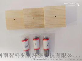 三级台昆虫针摆放昆虫标本制作