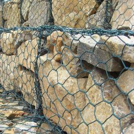 富海厂家供应水利工程格宾网 生态护坡石笼网