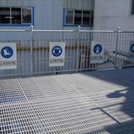 定制平台格栅板 加工防滑防腐齿形钢格板电厂用平台