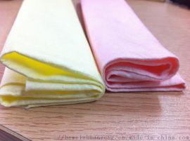 供应多种印花布压花针刺无纺布 定做拖把布水刺布