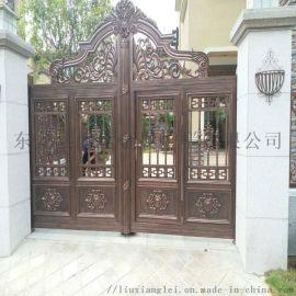 衡水冀州區鑄鋁庭院大門鋅鋼草坪護欄採購