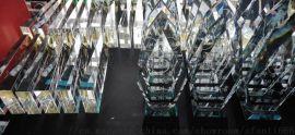 颁奖会议水晶奖杯定做,个性年会奖杯