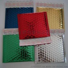 印刷镀铝膜气泡袋,牛皮纸汽泡袋