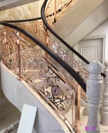 南皮风格铜楼梯扶手用智慧赞美生活