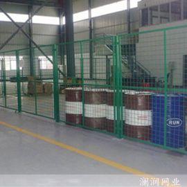 武汉工厂车间隔断网移动护栏网仓库浸塑金属围栏