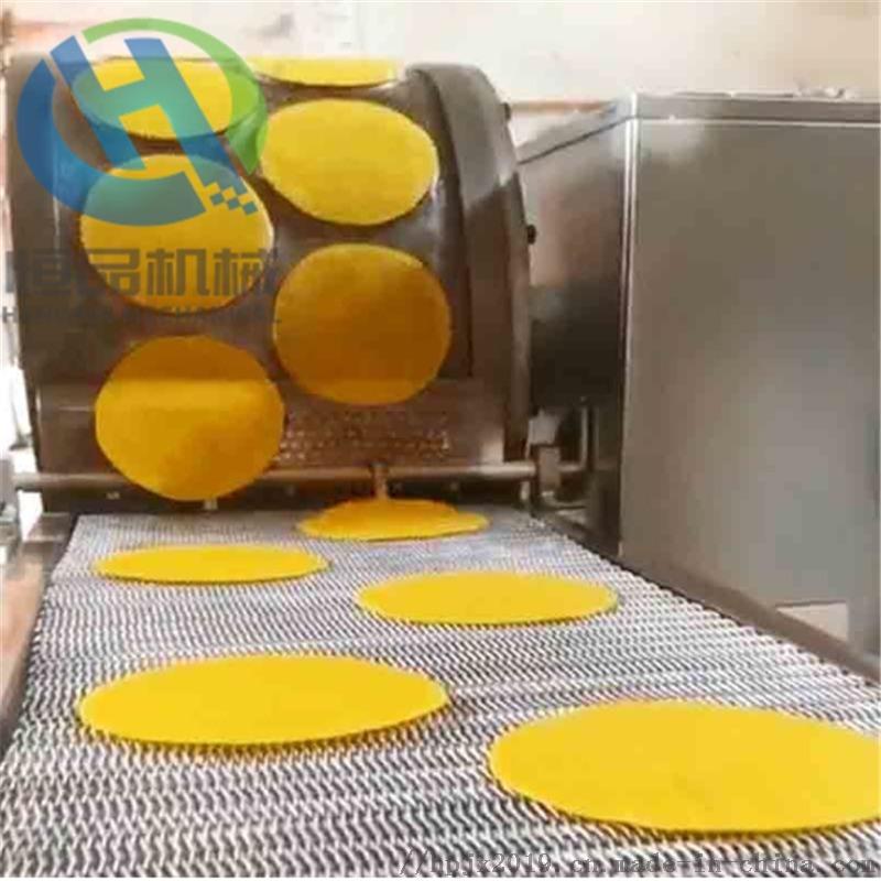 自主創新全自動蛋餅機 春捲機 薄餅機