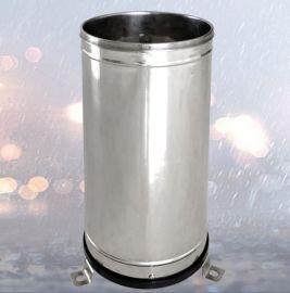不鏽鋼翻鬥式雨量筒,降水量儀, 雨量計,雨量感測器