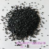 供应亮黑砂子 200目黑色金刚砂 水处理滤料石英砂
