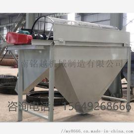 在牛粪生产线中有机肥筛分机的使用