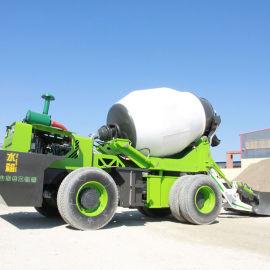 搅拌车搅拌运输车混泥土5方 自动上料搅拌车