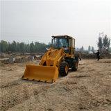 工地上装砂的小铲车 华科生产装载机厂家
