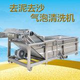 【上海青氣泡清洗機支持定製】上海青加工通用清洗設備