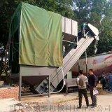 无尘石粉散料卸灰机 铁运集装箱卸料机 散水泥拆箱机