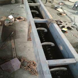 粮食用刮板机 铸石刮板输送机 六九重工 双板链爬坡