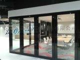 深圳舞蹈室玻璃移動隔斷門折疊屏風牆