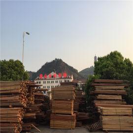 定做防腐木菠萝格楼梯实木厂家进口防腐木菠萝格木材厂