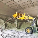 粉煤灰装车气力输送机环保无尘气力抽灰机散料装罐机