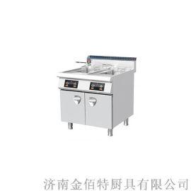 埃科菲900系列电磁双缸油炸炉EDCZL-800