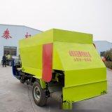 沈北電動牛場撒料車 養殖撒料車生產視頻