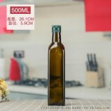 玻璃瓶油瓶加工定制紫苏瓶