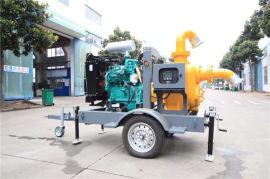 防水防洪8寸柴油自吸水泵