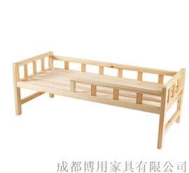 定制四川幼儿园单层床 四川实木儿童单层床厂家直销