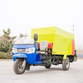 养牛场自动喂料车 养殖电动喂料车 大型自走喂料车