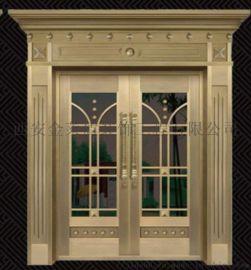 铜门和铸铝门的区别 西安铜门**