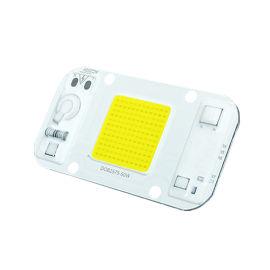 免驱动线性灯珠 cob光源 50W投光灯led