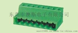 对接座 插拔式 接线端子KF 2EDGRK-5.08mm-3P 接插件 铜环保