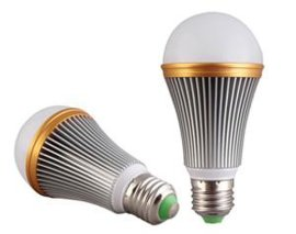 万方光华3W5W9W12W15W18Wled球泡灯e27螺口节能灯螺旋塑包铝球泡厂家直销