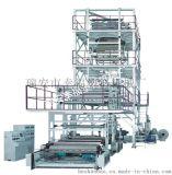 SJ-GS 系列 三至五层共挤薄膜吹塑机组 (IBC 膜泡内冷型)