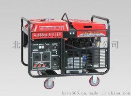原装泽藤汽油三相10KVA发电机组SHT11500HA
