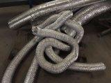 铝箔单管PVC金属复合风管油烟管道通风排风风管空调伸缩管