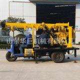 車載水井鑽機 200米農村鑽井機械設備液壓打井機鑽深井方便實用