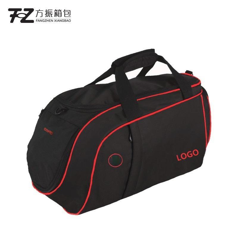 上海箱包工厂直销运动包定制旅行包大容量健身包 可定制logo加字