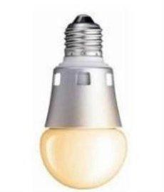 友美大功率三基色可调6W柔白LED球泡灯(无荧光粉)