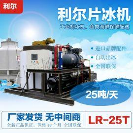 大型25吨片冰机 日产25吨工业片冰制冰机 工家直供
