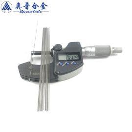 YL10.2钨钢圆棒 0.6*150mm合金耐磨棒