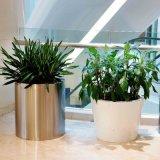 園林景觀花器 戶外美陳不鏽鋼組合花盆 酒店裝飾花鉢