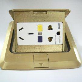 防漏电保护插座-地插型