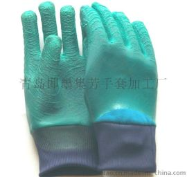 全挂胶手套Q3L2-1型适合煤矿隧道作业手套