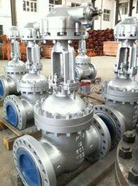 """高压12"""" 600lb美标碳钢法兰闸阀(Z41Y-DN300-600LB)"""