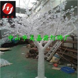 LED仿真树,滴胶树灯,4米高,4200灯,白光