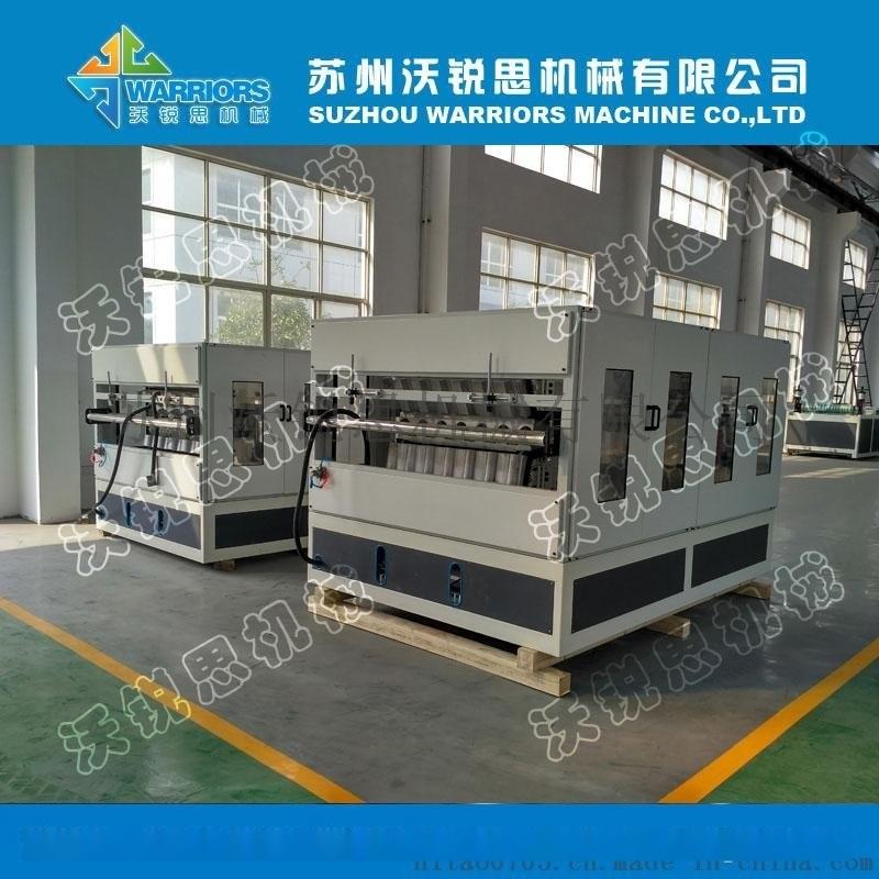 陝西客戶880型合成樹脂瓦生產線,塑料樹脂瓦設備廠家