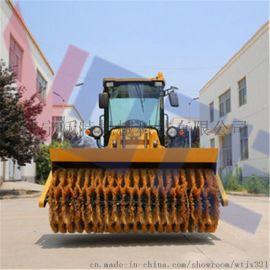 河南大型扫雪车质量 柴油小型座驾扫雪机供不应求