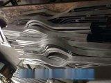 【木纹弧形铝方通】制作工艺-弧形铝板烧焊铝方通