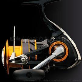达瓦纺车型渔线轮铝镁合金可折叠型