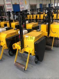 单轮压路机手扶式单钢轮小压路机回填土压土机