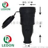 欧规德法式 装配式防水电源插头欧式组装接线防水插头